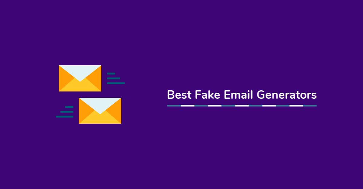 best fake email generators