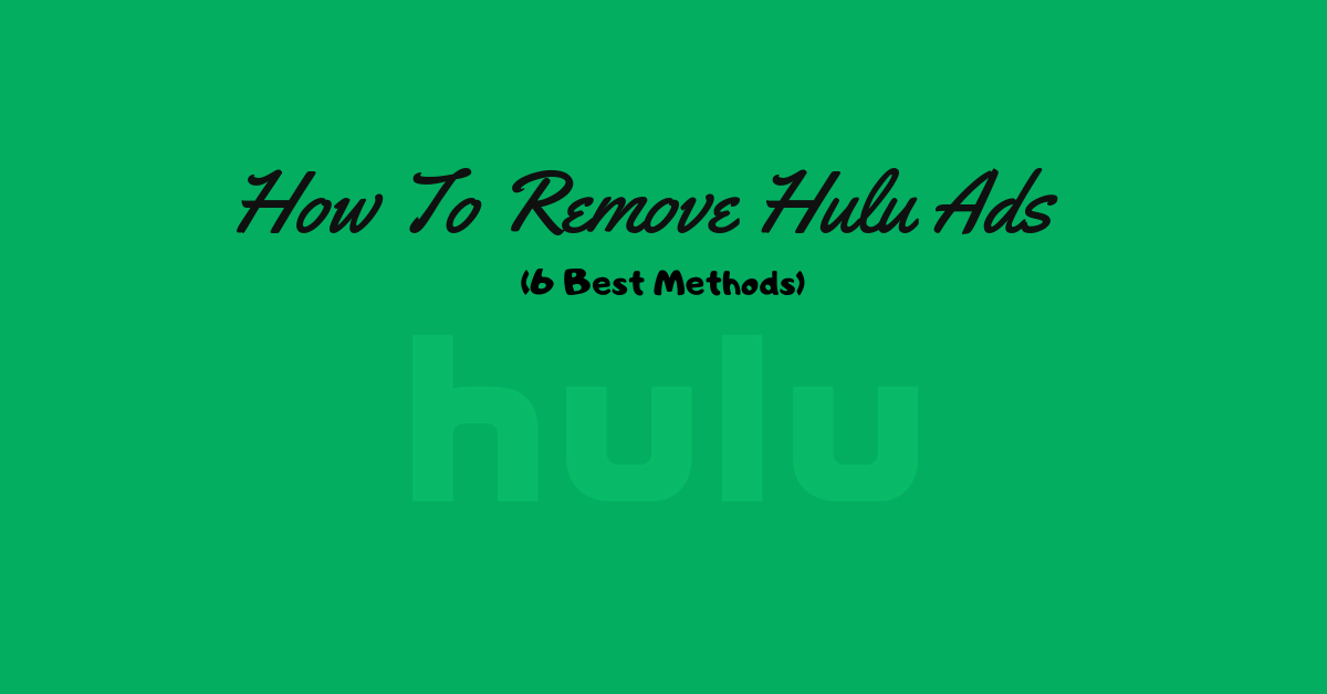 How to block or skip hulu ads