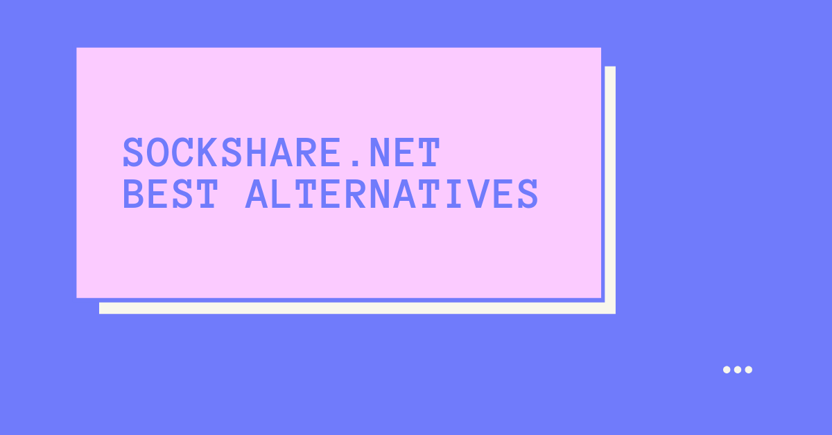 SockShare Best Alternatives